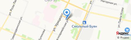 Photo House на карте Архангельска