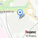 Архподшипник на карте Архангельска