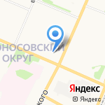 Тонус+ на карте Архангельска