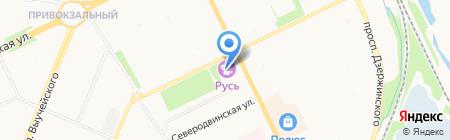 Лагуна на карте Архангельска