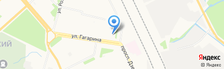 Jet Style на карте Архангельска