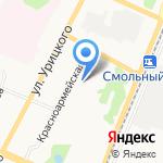Верона на карте Архангельска