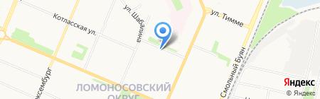 Ветеран на карте Архангельска
