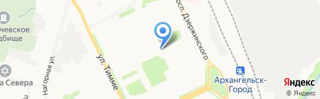 Solo на карте Архангельска
