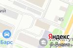 Схема проезда до компании Алоэ-Информ в Архангельске