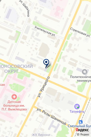 Центр делового партнерства на карте Архангельска