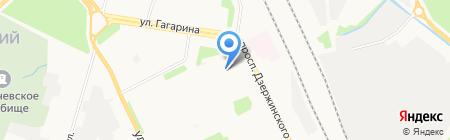 Детский сад №56 на карте Архангельска