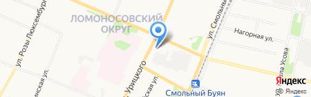 Мебель Москва на карте Архангельска