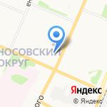 Наташа на карте Архангельска