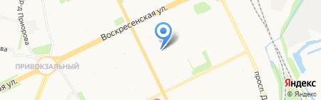 Архангельский коррекционный детский дом на карте Архангельска