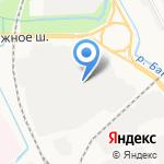 Северо-Западная транспортная компания на карте Архангельска