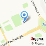 Архангельские известия на карте Архангельска