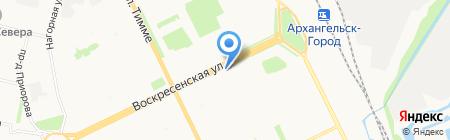 Зоосити на карте Архангельска