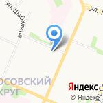 Архангельское предприятие пассажирских перевозок на карте Архангельска