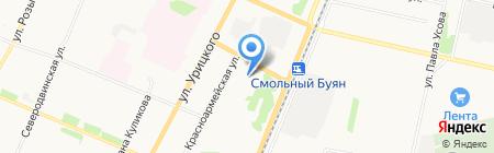 Центр дополнительного образования САФУ им. М.В. Ломоносова на карте Архангельска
