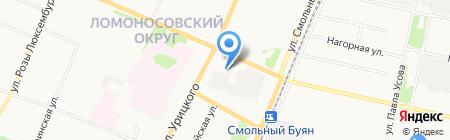 Альтегро на карте Архангельска