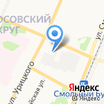 Интердизайн на карте Архангельска