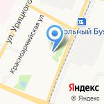 Архангельский педагогический колледж на карте Архангельска
