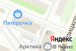 Схема проезда до компании Кулинария в Архангельске