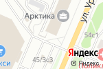 Схема проезда до компании Планета Солнца в Архангельске