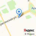 Мастерская по ремонту одежды из меха и кожи на карте Архангельска