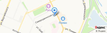 У Михалыча на карте Архангельска