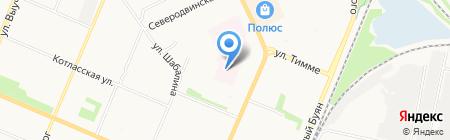 Опорно-экспериментальный реабилитационный центр для детей с ограниченными возможностями на карте Архангельска