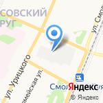Электропромсервис на карте Архангельска