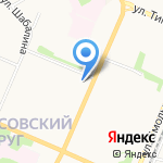 КОЛИС на карте Архангельска