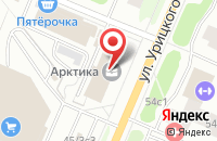 Схема проезда до компании Юнико-Норд в Архангельске