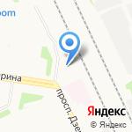 Автотехцентр на карте Архангельска