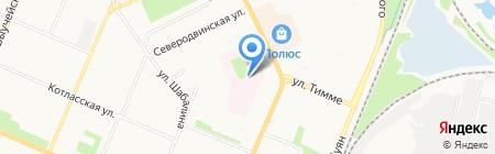 Родильный дом им. К.Н. Самойловой на карте Архангельска