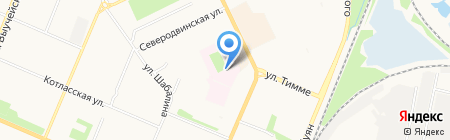 Женская консультация на карте Архангельска