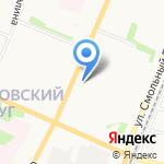 Легенда на карте Архангельска