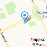 Yamaha на карте Архангельска