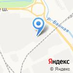 Гидрострой-558 на карте Архангельска