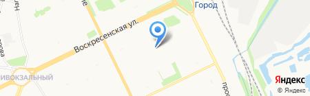 Бенигнум на карте Архангельска