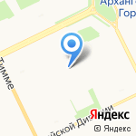 Доктор ЛОР на карте Архангельска