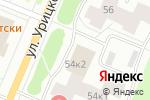 Схема проезда до компании Апрель в Архангельске