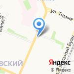 Фотооранжерея на карте Архангельска