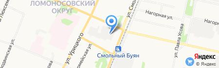 Танцевальная студия Камиллы Богайчук на карте Архангельска