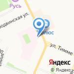 Парикмахерская Марины Швец на карте Архангельска