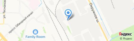 Юнион Трак на карте Архангельска