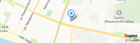 Альтерстрой на карте Архангельска