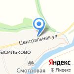 Церковь Илии Пророка на карте Васильково