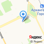 Настроение на карте Архангельска