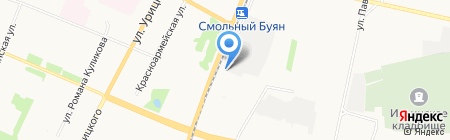 Белый Медведь на карте Архангельска