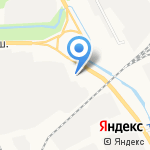 Компания Трансмор на карте Архангельска