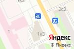Схема проезда до компании Кроха в Архангельске