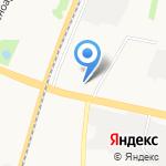 Проспект Снабжение на карте Архангельска